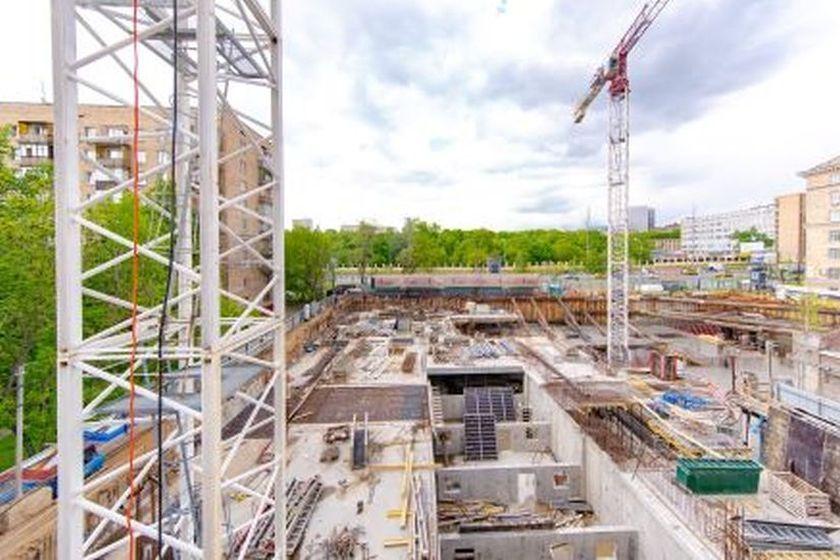 Дом ELEVEN началось строительство 1-го этажа