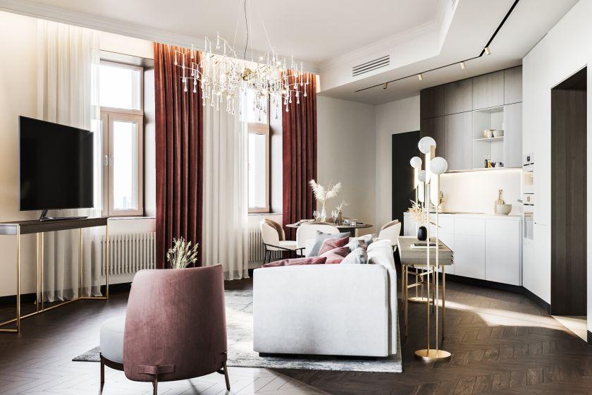 Почти каждая вторая квартира или апартамент в Москве предлагаются с отделкой